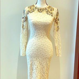 A very beautiful elegant embroidery dress